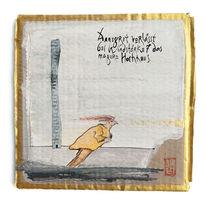 Haiku, Wind, Hochhaus, Malerei
