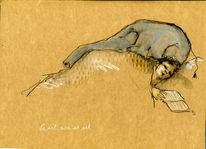 Belastung, Schlaf, Traum, Zeichnungen