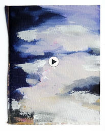 Wolken, Bewegung, Himmel, Malerei
