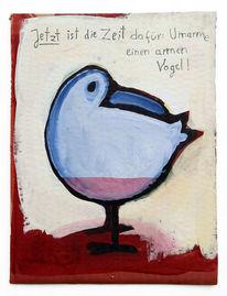 Arm, Leer, Zeit, Vogel