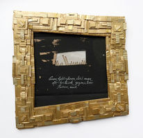 Rahmen, Gold, Kritisch, Illustrationen
