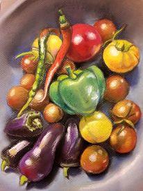 Gemüse, Tomate, Garten, Herbst