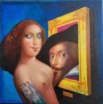 Ölmalerei, Rubens, 444 jahre, Malerei