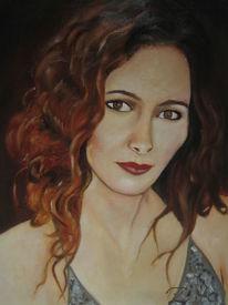 Ölmalerei, Sevda, Portrait, Frau