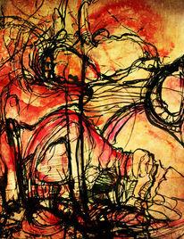Linie, Limit, Zeichnung, Aquarellmalerei