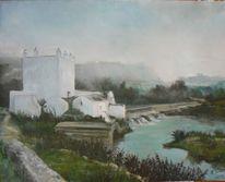 Alcala de guadaira, Landschaft, Mühle, Fluss