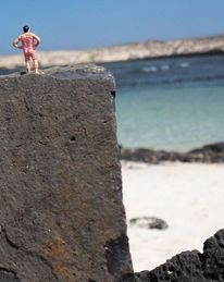 Miniaturfiguren, Strand, Fotografie, Leben