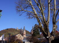 Auto, Landschaft, Wein, Vettelheim