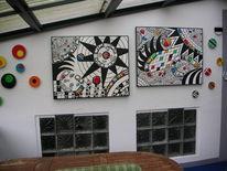 Terrasse, Rot, Kunsthandwerk,