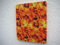 Feuer, Holzbildhauerei, Kunsthandwerk,