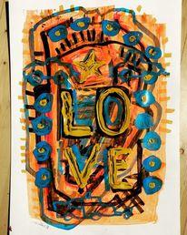 Liebe, Flipper, Pinball, Malerei