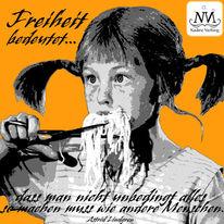 Graffiti, Astrid lindgren, Pippi langstrumpf, Schablone