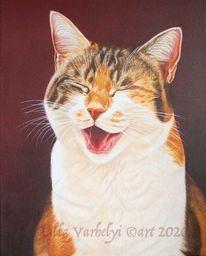 Lachen, Tiermalerei, Auftragsarbeit, Schichtenmalerei