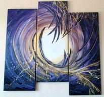 Abstrakt, Wandbild, Acrylmalerei, Wandmalerei