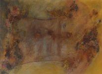 Acrylmalerei, Amore, Braun, Sinnlichkeit
