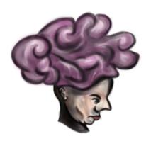 Kopf, Gehirn, Kopfbedeckung, Menschen