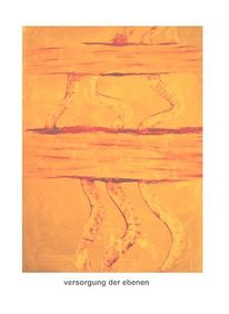 Rot, Energie, Ausstellung, Ölmalerei