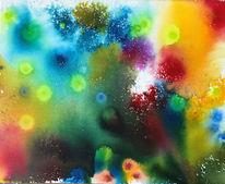 Abstrakt, Feuerwerk, Farben, Malerei