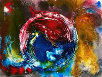 Abstrakt, Explosion, Universum, Kreis