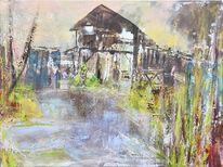 Erholung, Struktur, Bootshaus, Teich