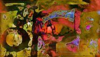 Abstrakt, Digital, Fläche, Farben