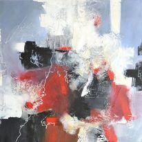 Haptisch, Weiß, Rot schwarz, Schrift