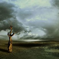 Sterben, Wolken, Landschaft, Surreal