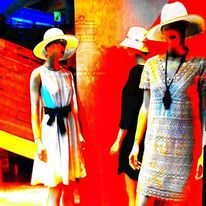 Fotografie, Sommer, Mode, Schaufenster