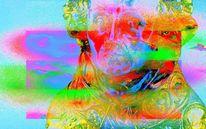 Streifen, Farben, Fotografie, Zweifel
