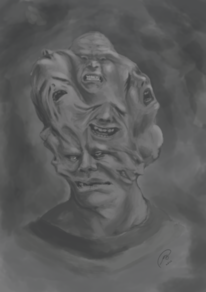 Kopf, Stimme, Krank, Gesicht