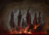 Stimmung, Düster, Hölle, Flammen