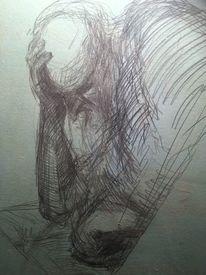 Leid, Zeichnung, Zeichnungen,
