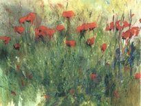 Leinen, Ölmalerei, Malerei,
