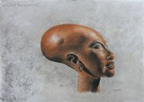 Epoche, Ägypten, Plastik, Pharao