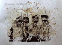 La prusse, Libération, Soldat, La bavière