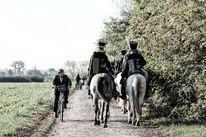 Napoleon, Leipzig, Husaren, Pferde