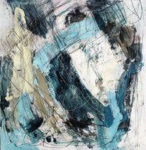 Acrylmalerei, Bewegung, Abstrakt, Malerei