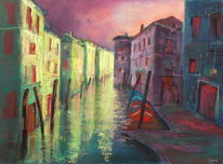 Venedig, Pastellmalerei, Malerei