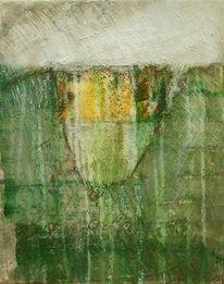 Gelb, Abstrakt, Grün, Weiß