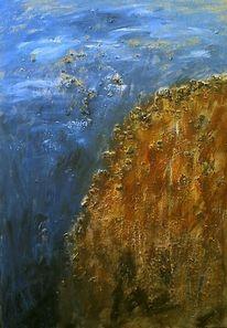 Stein, Acrylmalerei, Abstrakt, Malerei