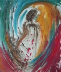 Moorgeist, Pigmente, Moorerde, Malerei