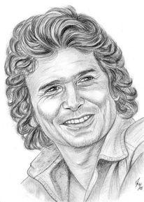 Bleistiftzeichnung, Portrait, Prominent, Zeichnungen