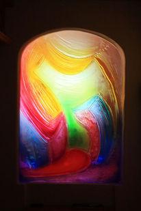 Glasdesign, Tür, Glastür, Kunsthandwerk