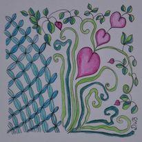 Fantasie, Linie, Entfaltung, Zeichnung
