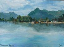 Bayer, Landschaft, Berge, Blau