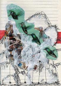 Gebürge, Skizze, Zeichnung, Treppe