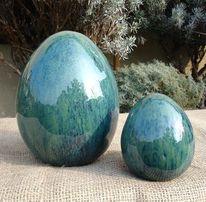 Keramik, Ostern, Ei, Kunsthandwerk
