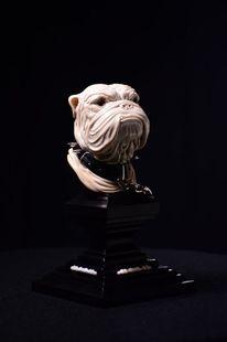Hund, Schnitzkunst, Skulptur, Blackwood