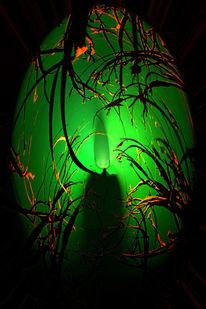 Leuchten, Kerzen, Digitale kunst