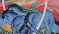 Expressionismus, Franz marc, Impressionismus, Blaue pferde